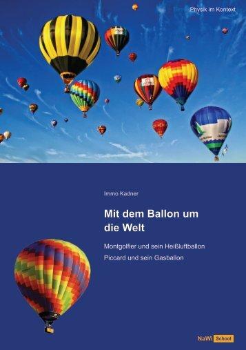 Mit dem Ballon um die Welt - Schülerfolder