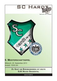 Saison 2013/2014 - Ausgabe 2