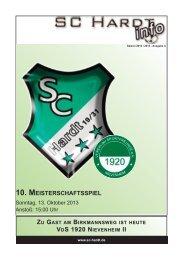 Saison 2013/2014 - Ausgabe 4