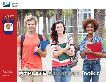 MYPLATE On Campus Toolkit
