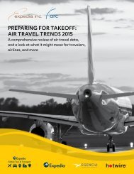 PREPARING FOR TAKEOFF AIR TRAVEL TRENDS 2015