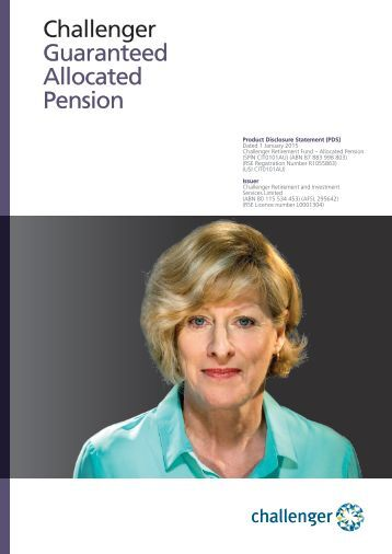Challenger Guaranteed Allocated Pension