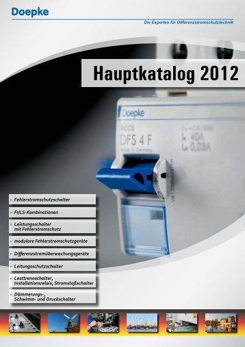 Hauptkatalog 2012 (12.55 MB) - Doepke
