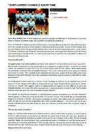Revue de presse du VBSL - Mag Sport 06 2014-2015