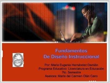 Diseño instruccional María E.