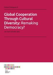Global Cooperation Through Cultural Diversity Remaking Democracy?
