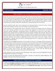CCAOI Newsletter September 2015