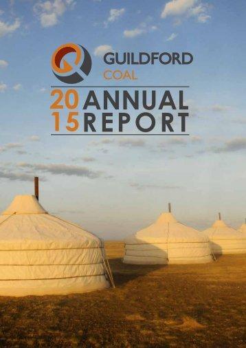20 15 ANNUAL REPORT