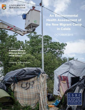 An Environmental Health Assessment of the New Migrant Camp in Calais