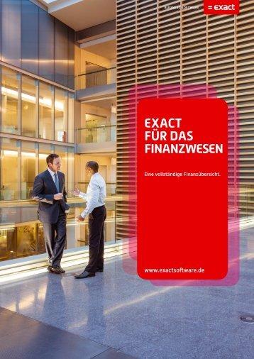 Broschüre Exact für das Finanzwesen (DE) Kopie