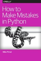 How to Make Mistakes in Python