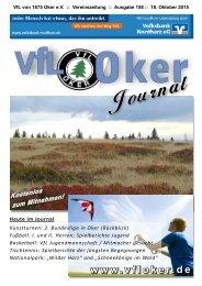 VfL Oker - VfL Journal