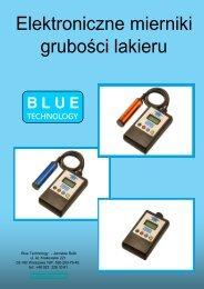 Blue Technology - Mierniki Grubości lakieru