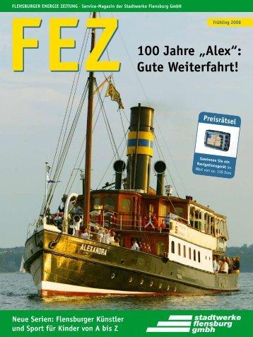 """100 Jahre """"Alex"""": Gute Weiterfahrt! - Stadtwerke Flensburg GmbH"""