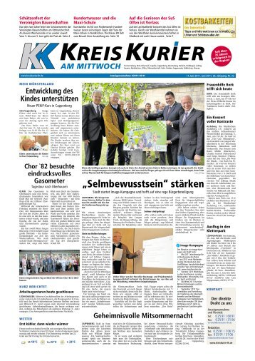 Ausgabe als PDF Download - Kreis Kurier - Home