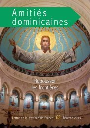 Amitiés dominicaines 68