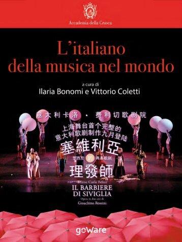 L'ITALIANO DELLA MUSICA NEL MONDO