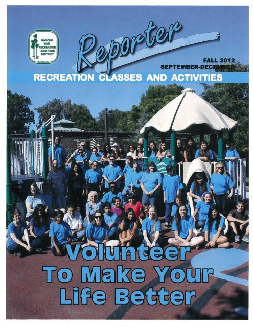 FALL 2012 SSES AD ACTI:-[3 - Rancho Simi Recreation and Park ...
