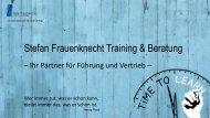 Angebot 2015 Stefan Frauenknecht - Industrie, Handwerk, Dienstleistung