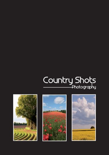 Countryshots Photography Price List Autumn 2015
