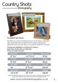 Countryshots Photography Price List Autumn 2015 - Page 5