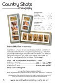 Countryshots Photography Price List Autumn 2015 - Page 6