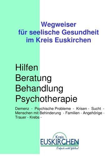 Wegweiser für seelische Gesundheit im Kreis Euskirchen