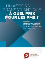 Un accord transatlantique à quel prix pour les PME ?