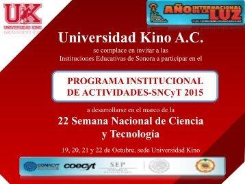 Universidad Kino A.C