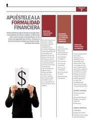 Fascículo 7 - Apuestele a la formalidad financiera  - Asobancaria - Saber Mas, Ser Mas