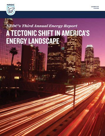 A Tectonic Shift in America's Energy Landscape