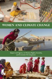 Women and Climate Change