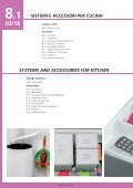 acceSSori per cucina 8kitCHen ACCeSSORieS - Page 3