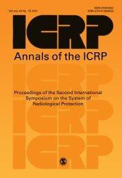 Annals o f the ICRP