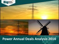 Power Annual Deals Analysis 2014 | Market Research Report