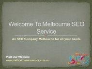 SEO Consultant   Melbourne SEO