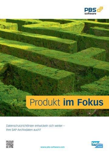 Produkt im Fokus