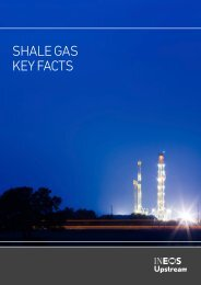 SHALE GAS KEY FACTS
