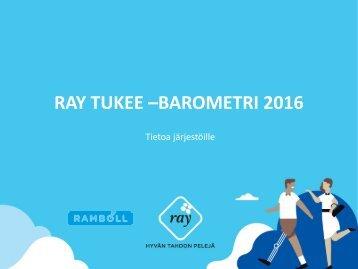 RAY TUKEE –BAROMETRI 2016