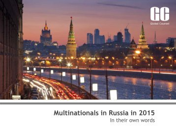 Multinationals in Russia in 2015
