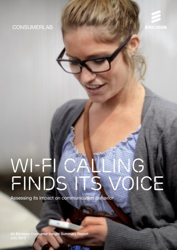 Wi-Fi calling finds its voice