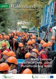 Die neue Ausgabe der Waldverbandszeitung ist da