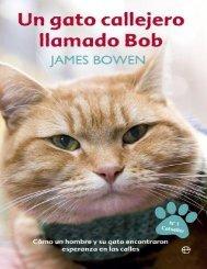 Un gato callejero llamado Bob - James Bowen