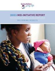 2015 MID-INITIATIVE REPORT