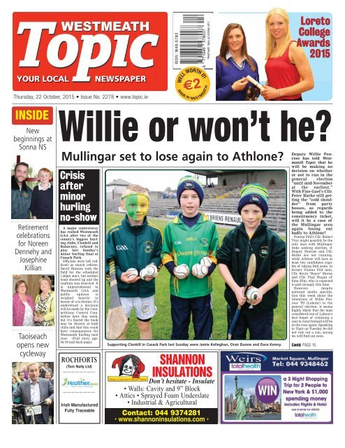 8dc0e286 Westmeath Topic- 22 October 2015