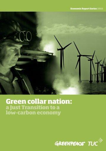 Green collar nation