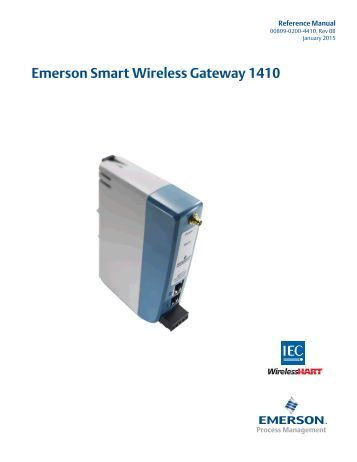 Emerson Thum adapter Manual