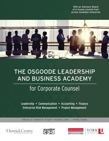 for Corporate Counsel