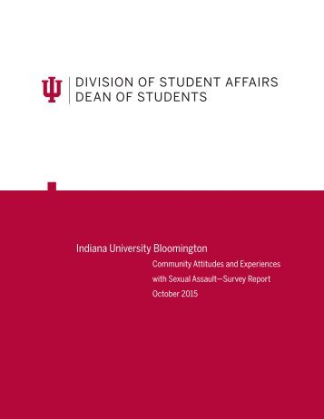 DIVISION OF STUDENT AFFAIRS DEAN OF STUDENTS