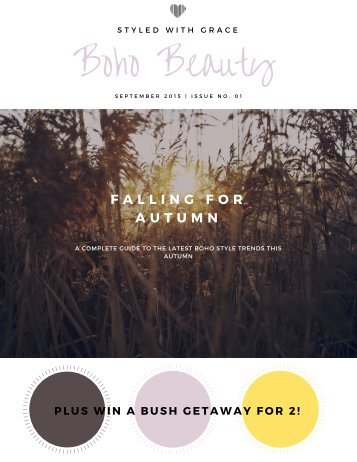 Boho Beauty Issue no.1 (1)